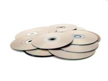 Heap of disks Royalty Free Stock Photography