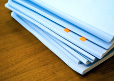 Heap of documents Stock Photos
