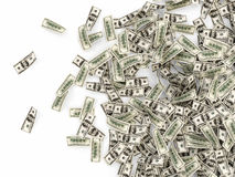 Heap of Dollar Bills Stock Photo