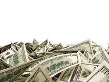 Heap of Dollar Bills Stock Photography
