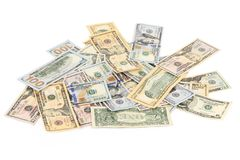 Heap of dollar bills. Stock Photography
