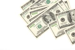 Heap of dollars Royalty Free Stock Photo