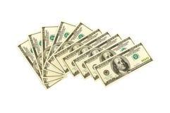 Heap of dollars Stock Photo