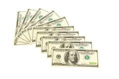 Heap of dollars Stock Image