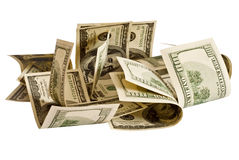 Heap of dollars Stock Photography