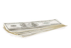 Heap of dollars Stock Photo