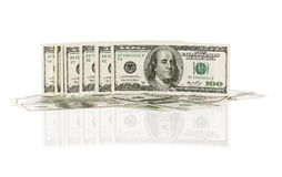 Heap of dollars Royalty Free Stock Images
