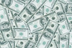 A heap of dollars. Stock Image
