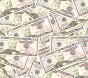 Heap of dollars, money background.  Stock Image