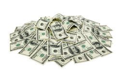 Heap of dollars Stock Photos