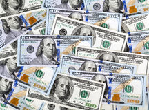 Heap of dollars, money background Stock Photography