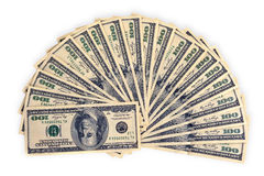 Heap of dollars, money background Royalty Free Stock Photography