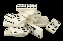 Heap of domino bones Royalty Free Stock Photo