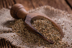 Heap of dried Anise Seeds royalty free stock photo