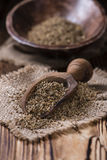 Heap of dried Anise Seeds Stock Photography