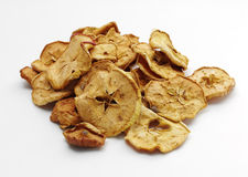 Heap of dried apples Royalty Free Stock Photo