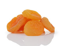 Heap of dried apricots Royalty Free Stock Image