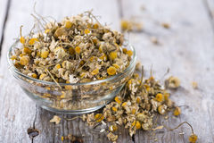 Heap of dried Camomile royalty free stock photos
