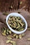 Heap of dried Cardamon Stock Photo
