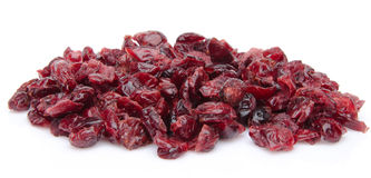 Heap of dried cranberries Stock Images