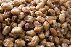 Heap Of Dried Dates On Sale Stock Photo