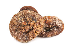 Heap of dried figs Stock Photos