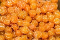 Heap of dried honey Chinese plum (Prunus mume) Stock Photography