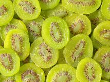 Heap of dried kiwifruit Royalty Free Stock Images