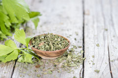 Heap of dried Lovage Royalty Free Stock Photos