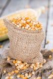 Heap of dried Maize Stock Photos