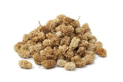 Heap of dried mulberries Stock Photography
