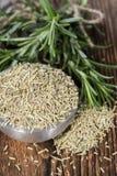 Heap of dried Rosemary Stock Photo