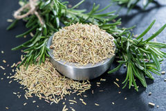 Heap of dried Rosemary Stock Photos