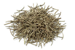Heap of dried rosemary needles Royalty Free Stock Photography