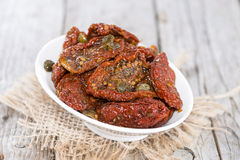 Heap of dried Tomatoes Royalty Free Stock Photography