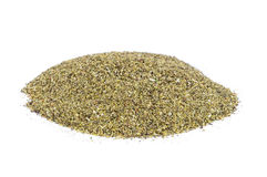 Heap of dried Winter Savory spice Stock Photography