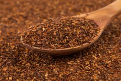Heap of dry rooibos tea Stock Photography