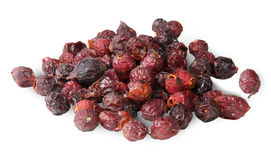 Heap Of Dry Rosehip Fruit Stock Photo