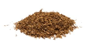 Heap of dry soft Pipe Tobacco Stock Image