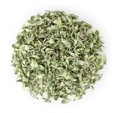 Heap of dry thyme isolated on white Stock Photography