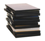 Heap of DVD Stock Images