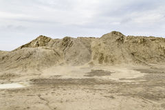 Heap of earth Stock Photography