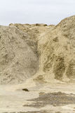 Heap of earth Royalty Free Stock Photography