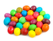 Heap of easter eggs royalty free stock image
