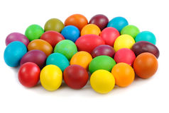 Heap of easter eggs Royalty Free Stock Images