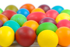 Heap of easter eggs Stock Photography