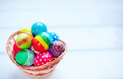 Heap of Easter eggs Stock Image