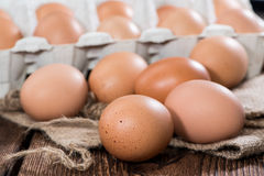 Heap of Eggs Stock Photography