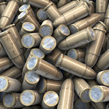 Heap of European Bullets Royalty Free Stock Photo