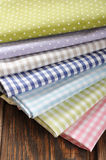 Heap of  fabrics Royalty Free Stock Photo